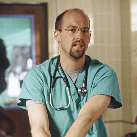 Anthony Edwards em cena de 'ER' Foto: Divulgação