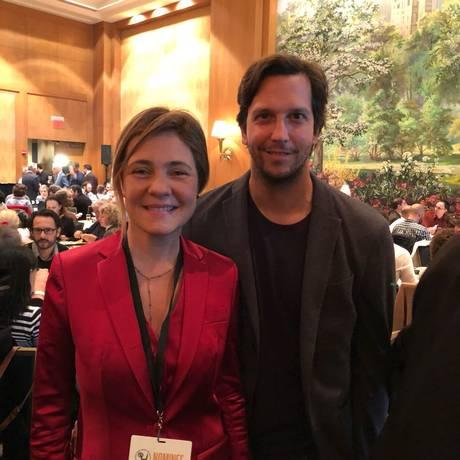 Adriana Esteves e Vladimir Brichta Foto: O Globo