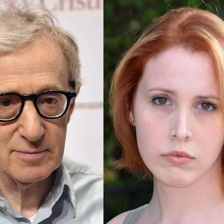 Woody Allen e Dylan Farrow Foto: Reprodução