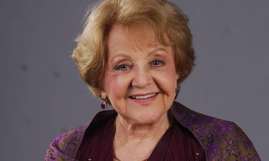 Eva Todor morreu em casa, aos 98 anos Foto: TV Globo / Renato Rocha Miranda
