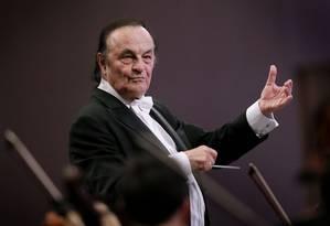 O maestro Charles Dutoit Foto: Divulgação