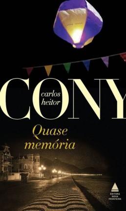 """Capa de """"Quase memória"""", de Carlos Heitor Cony Foto: Rperodução"""