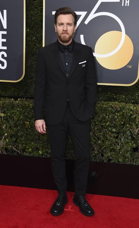 O ator Ewan McGregor Foto: Jordan Strauss / Jordan Strauss/Invision/AP