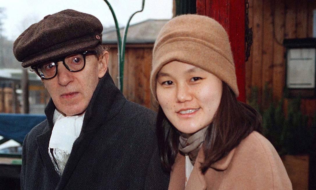 Woody Allen e Soon-Yi Previn Foto: Michele Gregolin / REUTERS