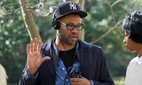 Diretor Jordan Peele nas filmagens de 'Corra!' Foto: Divulgação