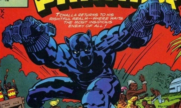 Pantera Negra, ilustrado por Jack Kirby Foto: Reprodução