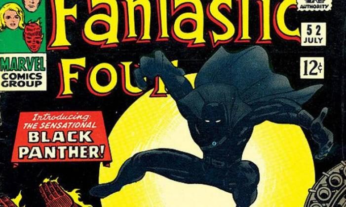 Primeira aparição do Pantera Negra Foto: Reprodução