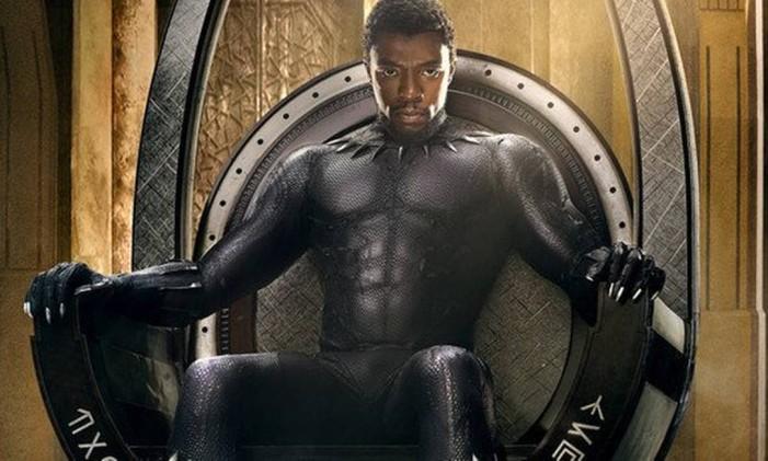 Cartaz do filme 'Pantera Negra' Foto: Divulgação