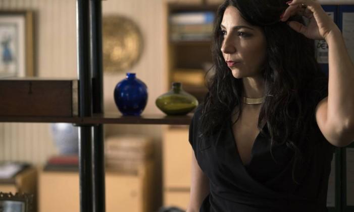 A atriz Alessandra Colasanti Foto: Pedro Saad / Netflix