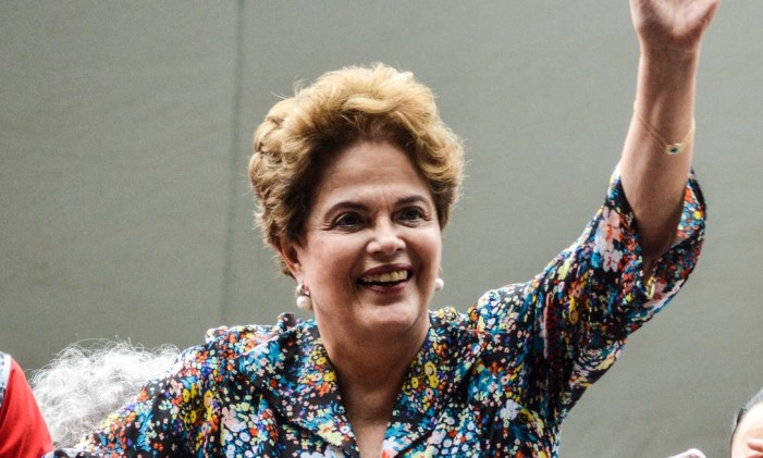 Dilma Foto: Omar de Oliveira/Fotoarena / Agência O Globo / Agência O Globo