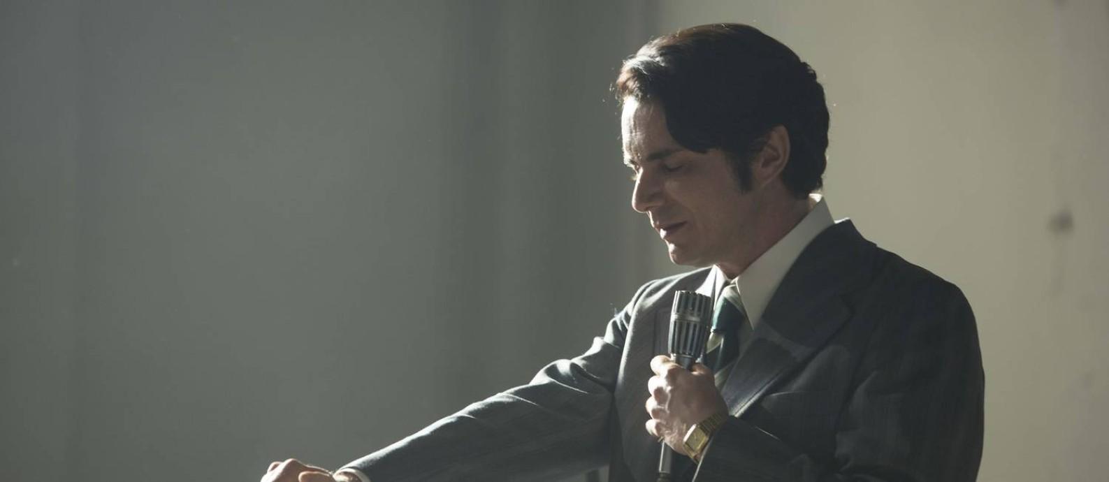 Petrônio Gontijo interpreta Edir Macedo em 'Nada a perder' Foto: Divulgação