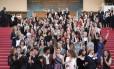 Atrizes, produtoras e cineastas protestaram pela igualdade de direito entre mulheres e homens no cinema, em Cannes