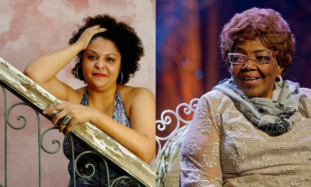 Fabiana Cozza e Dona Ivone Lara Foto: Camilla Maia e Divulgação