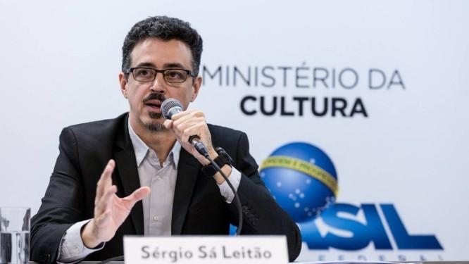 O ministro da Cultura Sérgio Sá Leitão Foto: Janine Moraes / Divulgação/MinC