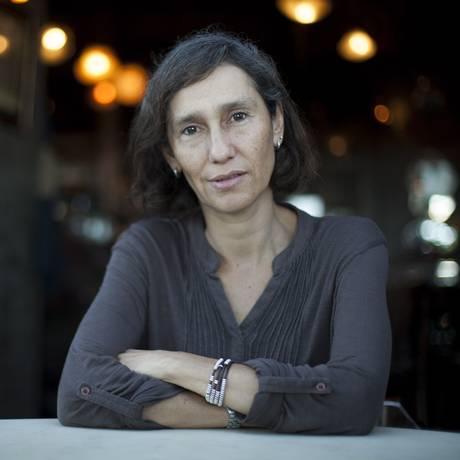 Andrea Stavenhagen, delegada curadora do festival de San Sebastián para a América Latina Foto: Gabriel Monteiro / O Globo