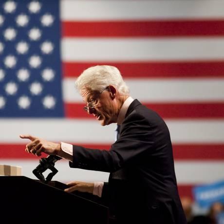 O ex-presidente americano Bill Clinton Foto: EDWARD LINSMIER