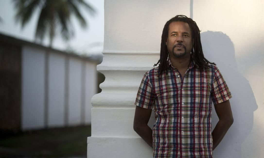 O escritor e ensaísta Colson Whitehead em Paraty para a Flip 2018 Foto: Márcia Foletto / O Globo