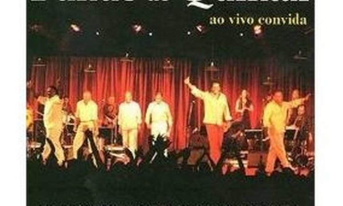 Capa do CD Fundo de Quintal Ao Vivo Convida Foto: Divulgação