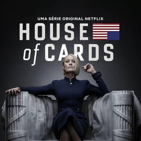 Cartaz da última temporada de 'House of cards' Foto: Divulgação
