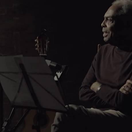 Gilberto Gil em 'Amigos, sons e palavras' Foto: Reprodução