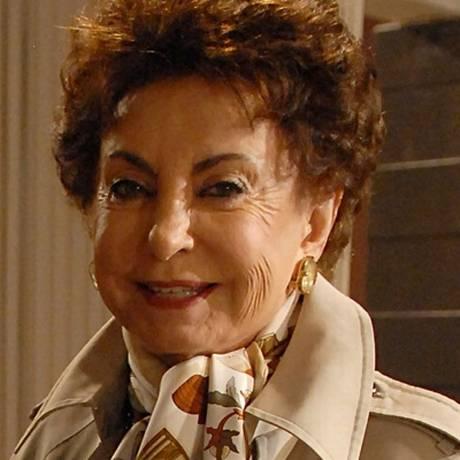A atriz Beatriz Segall Foto: Reprodução