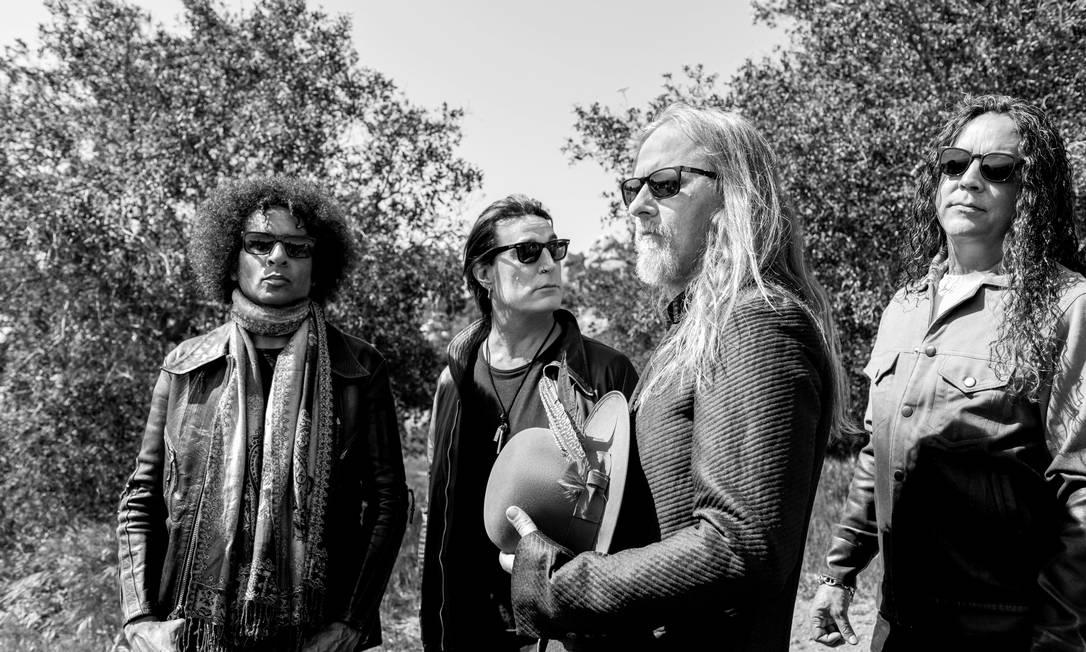 A banda de rock americana Alice in Chains Foto: Divulgação / Pamela Littky
