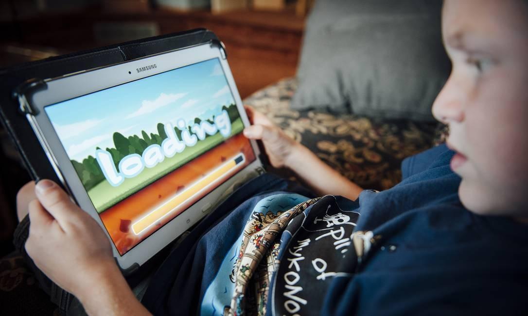 Veja dicas de apps para crianças Foto: Bryce Meyer / NYT