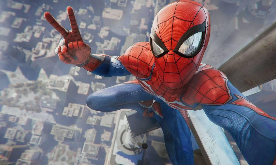 Flanar pela Nova York virtual de 'Spider-man' é atração do game Foto: Divulgação