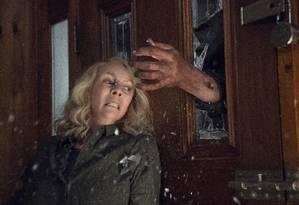 Jamie Lee Curtis em 'Halloween' Foto: Ryan Green / Divulgação
