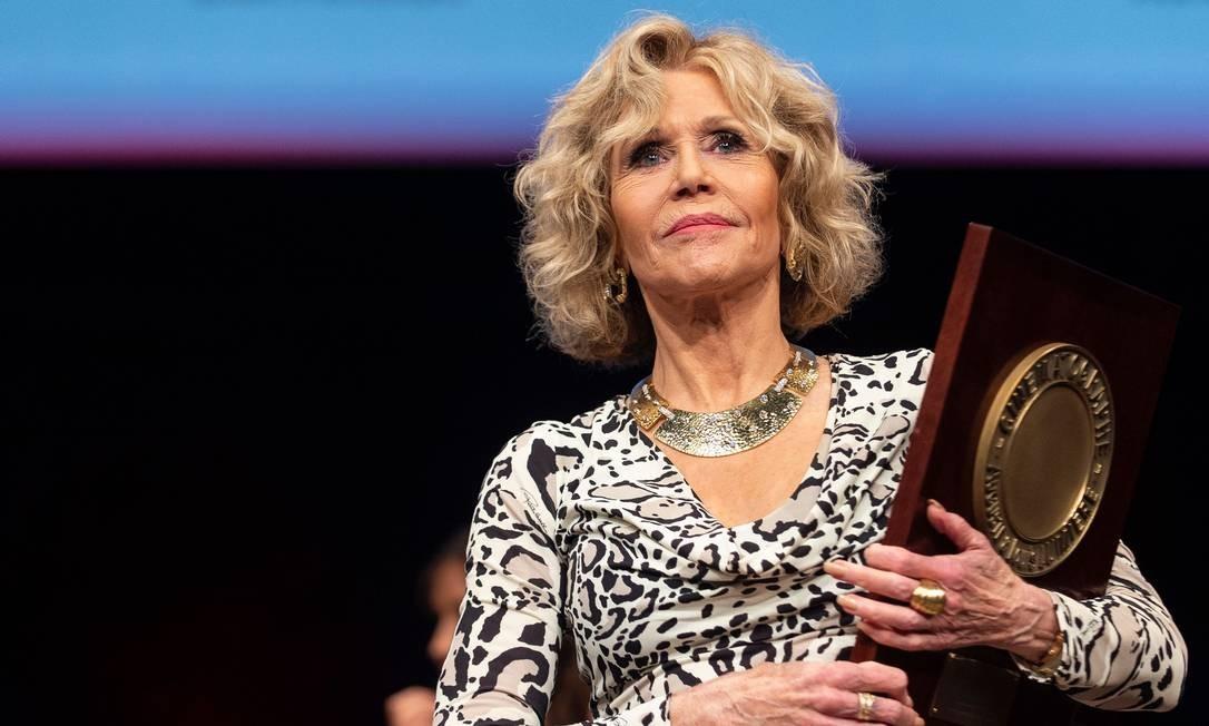 Jane Fonda recebe homenagem em Festival Lumière, na França