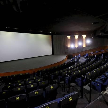 Sala de cinema Foto: Marcos Ramos / Agência O Globo