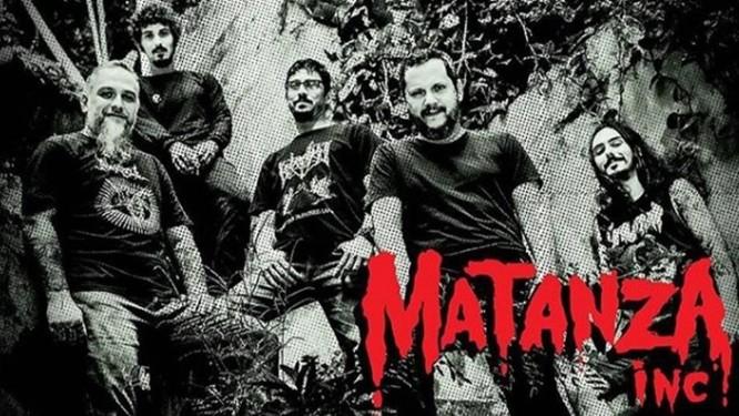 Nova formação do Matanza Foto: Instagram / Reprodução