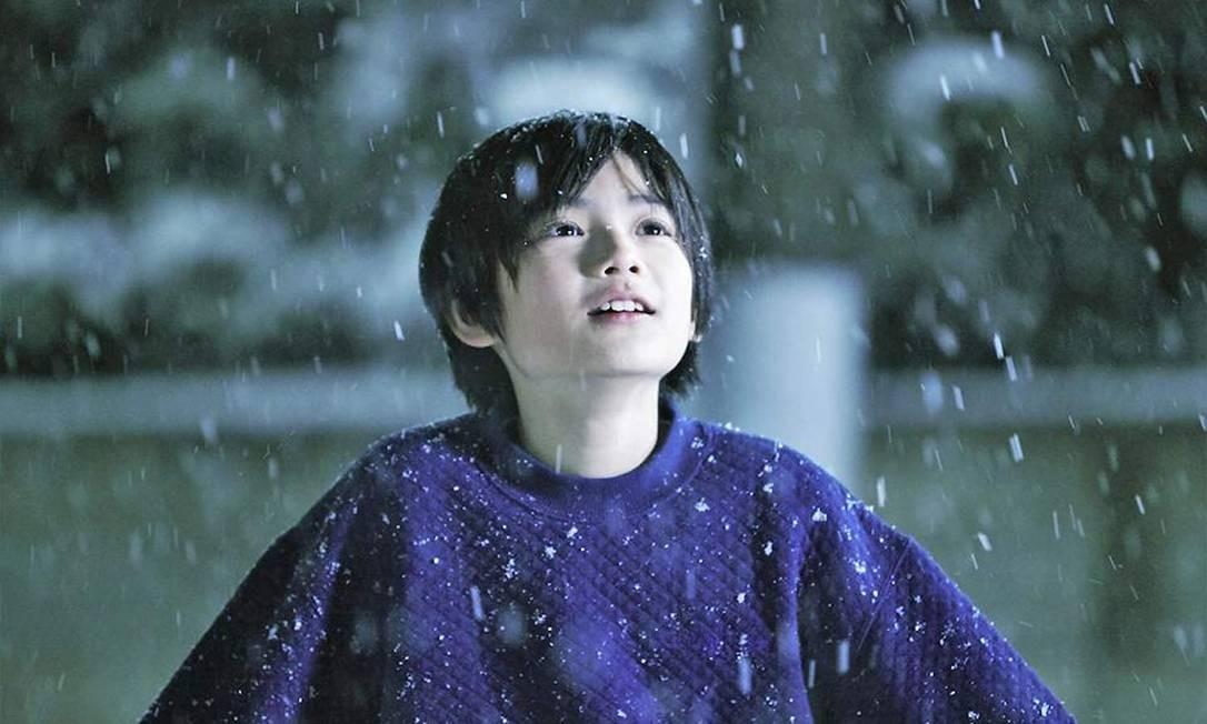 'Assunto de família': Indicado na categoria de melhor filme estrangeiro (Japão). Após roubarem um mercado, Osamu e seu filho encontram, no caminho de casa, uma pequena garota. A família abriga a menina e tudo parece bem, até segredos serem revelados. Foto: Divulgação