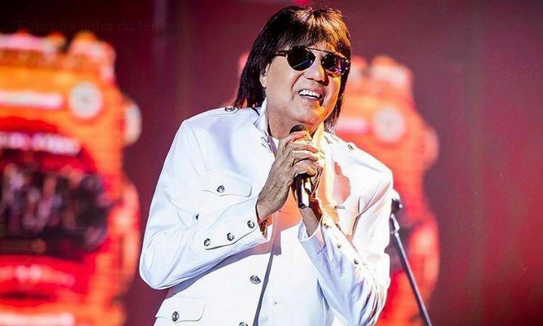 De acordo com o filho do cantor, Marciano teve um infarto fulminante durante a madrugada Foto: Reprodução/Instagram