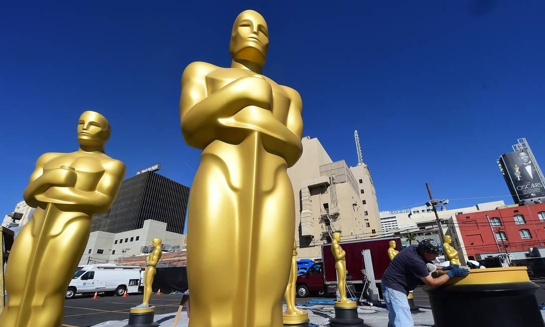Estatuetas do Oscar Foto: FREDERIC J. BROWN / AFP