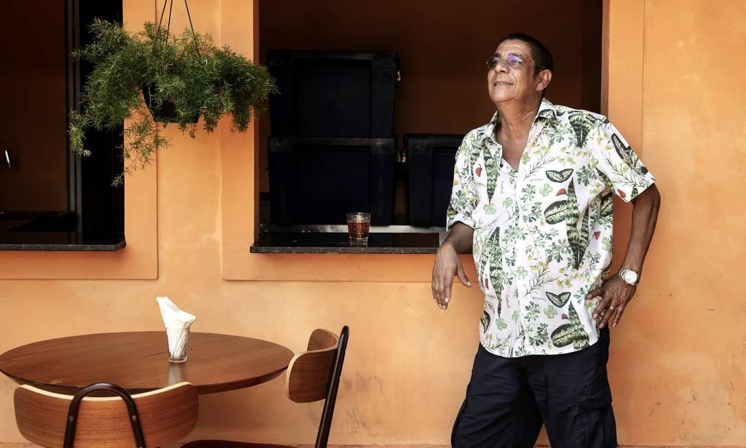 O cantor Zeca Pagodinho Foto: Leo Aversa / Agência O Globo