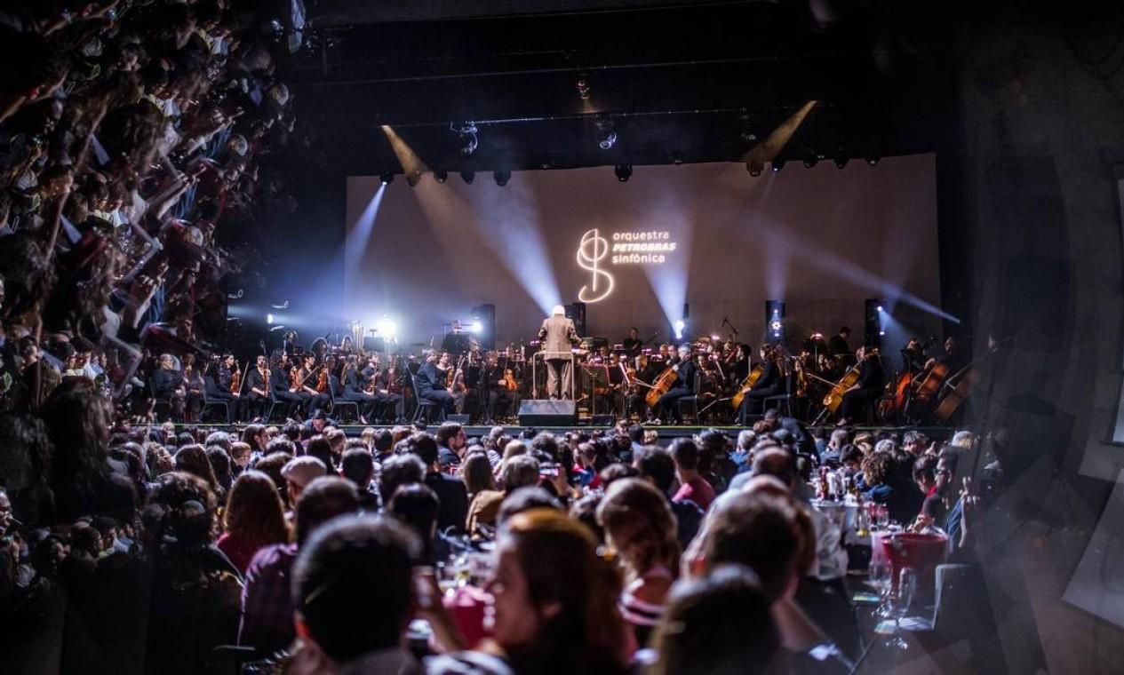 Orquestra Petrobras Sinfônica fará o show 'Bohemian Rhpasody', com músicas do Queen Foto: Divulgação