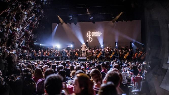 Orquestra Petrobras Sinfônica Foto: Divulgação