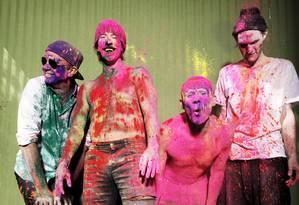 O grupo californiano Red Hot Chili Peppers Foto: Divulgação/Steve Keros