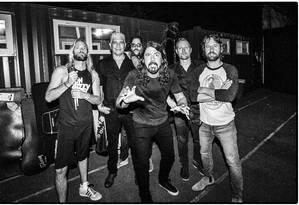 A banda americana Foo Fighters Foto: MJ KIM / Divulgação/MJ KIM
