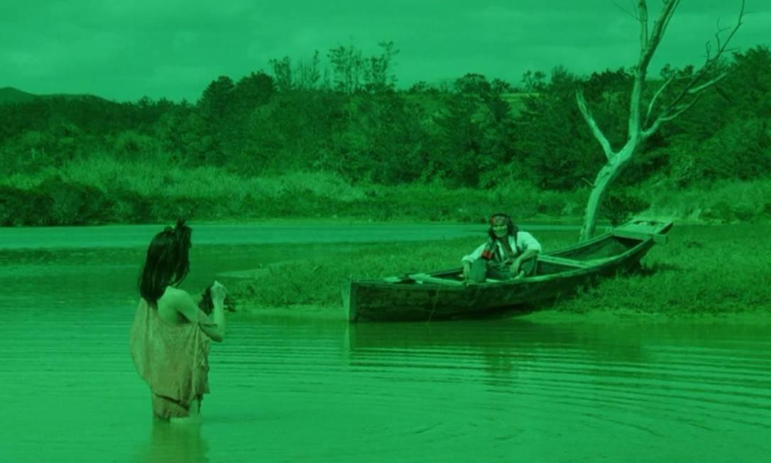 'Saraba hakobune' (1984). Esta produção japonesa dirigida por Shûji Terayama se inspirou em 'Cem anos de solidão' para contar a história de uma vila isolada perdendo suas tradição quanto os habitantes começam a se mudar para a cidade Foto: Divulgação