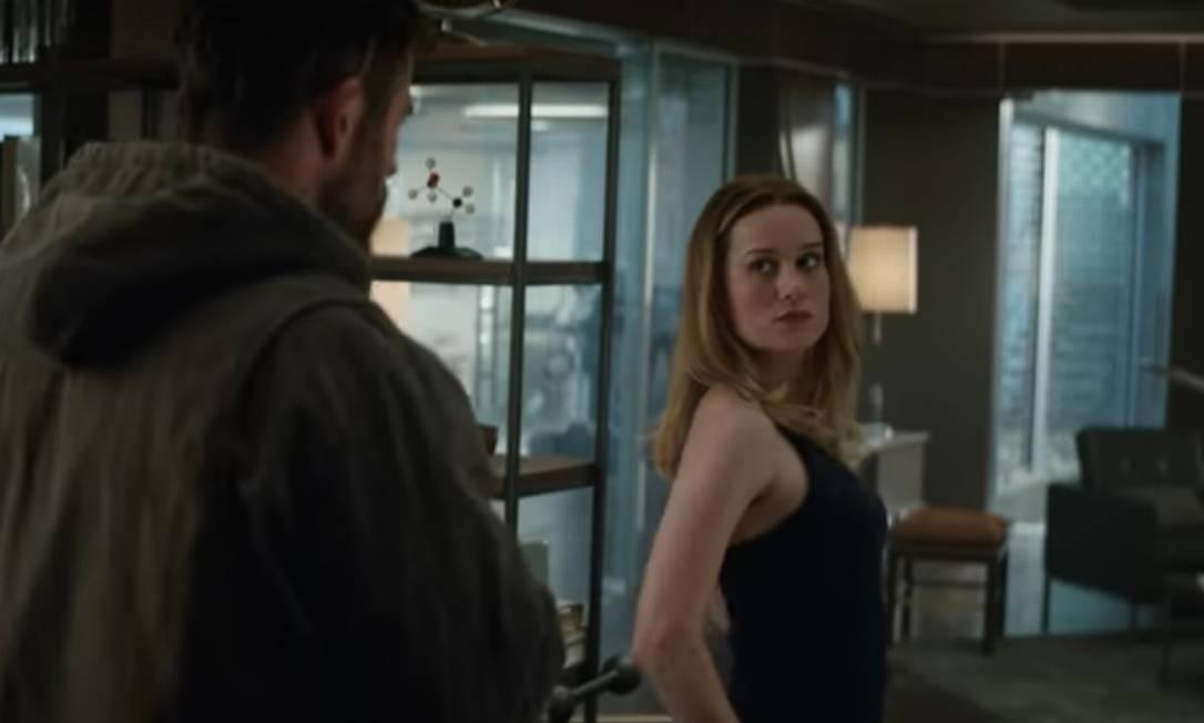Cena do trailer de 'Vingadores: Ultimato' Foto: Divulgação