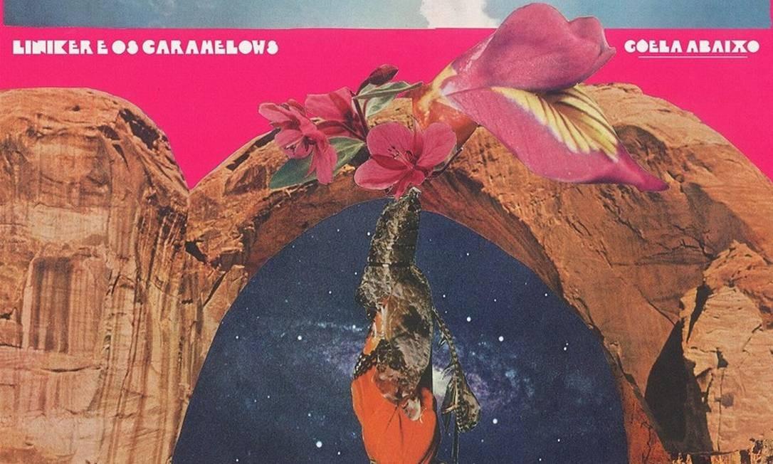 Capa do disco 'Goela abaixo', de Liniker e Os Caramelows Foto: Divulgação