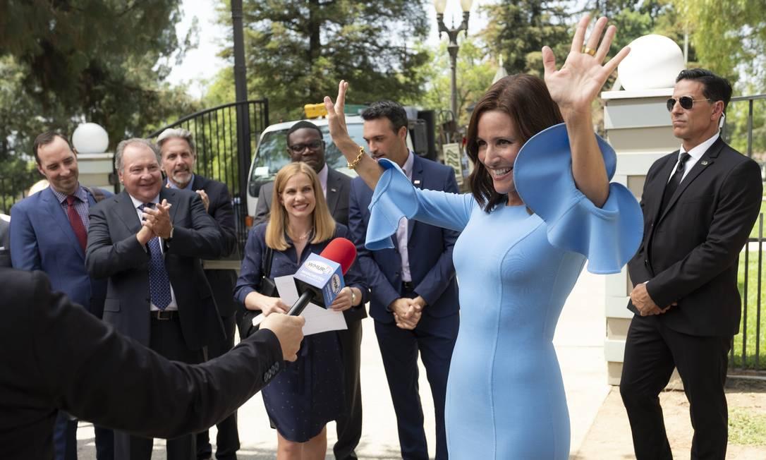 """A sétima temporada de """"Veep"""", com Julia Louis-Dreyfus Foto: Divulgação / Divulgação"""