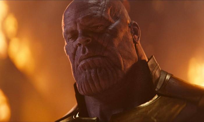 Thanos em 'Guerra Infinita' Foto: Divulgação