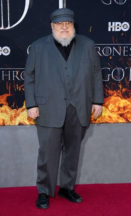 O escritor George R. R. Martin, criador dos livros que inspiraram 'Game of thrones' Foto: Dimitrios Kambouris / AFP