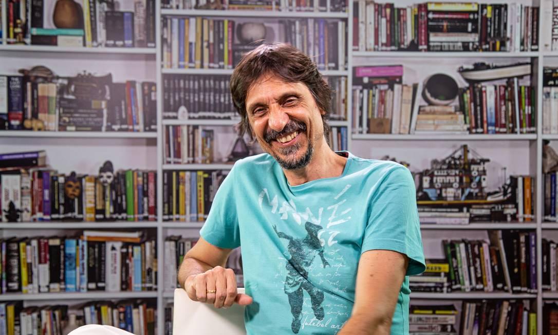O jornalista, escritor e tradutor Eduardo Bueno, o Peninha Foto: Shayenne Reis / Divulgação/Shayenne Reis