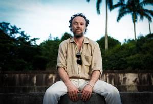 O cantor e compositor Rodrigo Amarante Foto: Roberto Moreyra / Agência O Globo