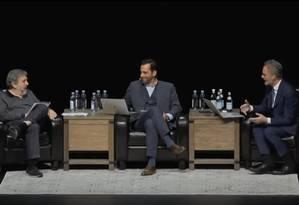 Debate com Slavoj Žižek e Jordan Peterson Foto: Reprodução