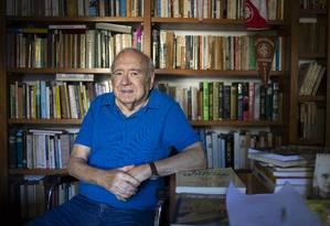 O escritor Luis Fernando Verissimo Foto: Ricardo Jaeger